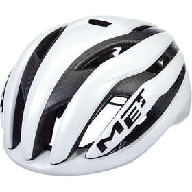 MET Trenta 3K Carbon Casco, white